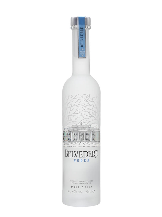 Belvedere Vodka / Small Bottle