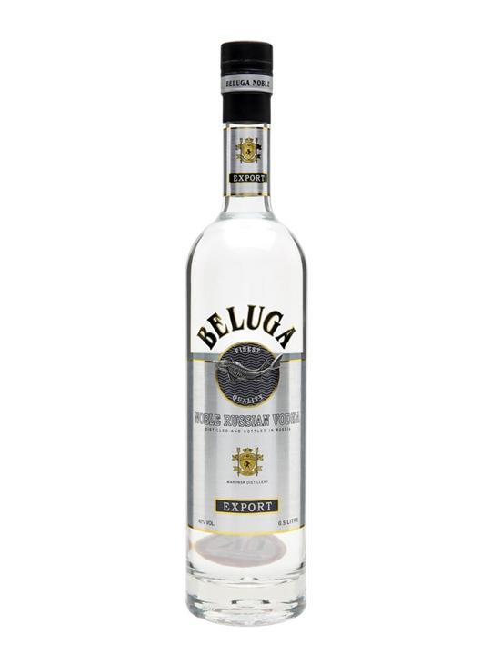 Beluga Noble Russian Vodka / Half Litre