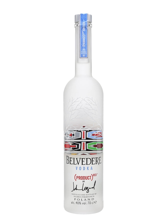 Belvedere RED Vodka / 2016 Edition By John Legend