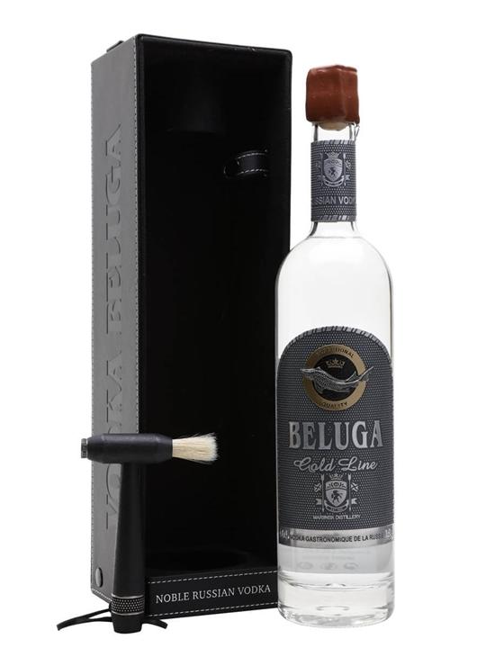 Beluga Gold Line Vodka / Leather Box