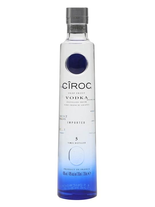 Ciroc Vodka / Small Bottle