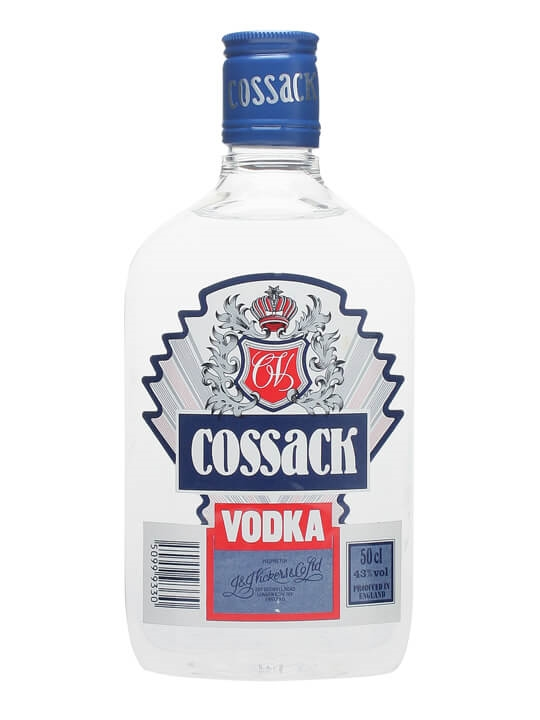 Cossack Vodka / Half Litre