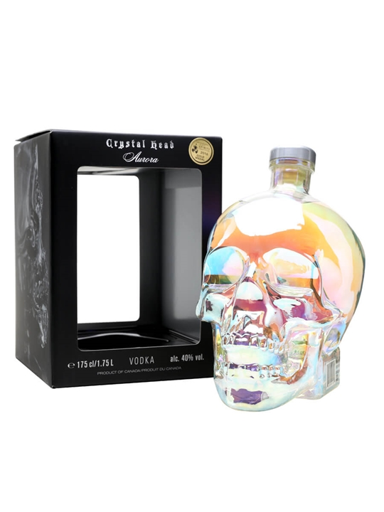 Crystal Head Aurora Vodka / Magnum