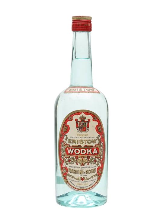 Eristow Vodka / Bot.1950s