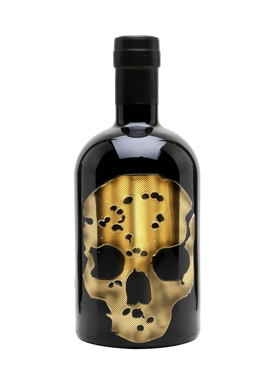 Ghost Vodka Gold Skull