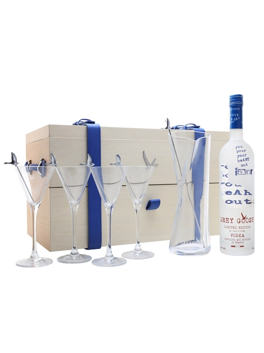Grey Goose Les Visionnaires / Martini Gift Set #9 / Iain R W
