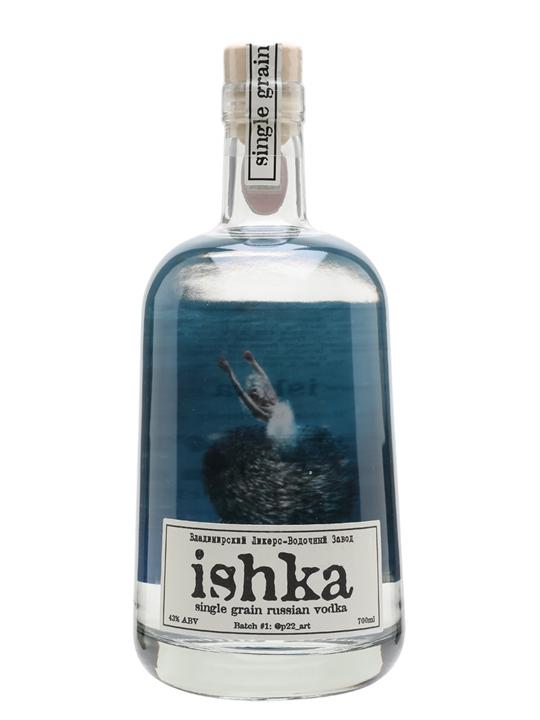 Ishka Single Grain Vodka Batch #1