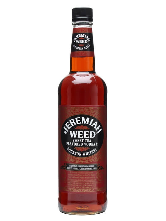 Jeremiah Weed Sweet Tea Flavoured Vodka & Bourbon Whiskey