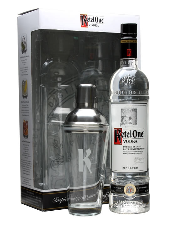 Ketel One Vodka  With Cocktail Shaker