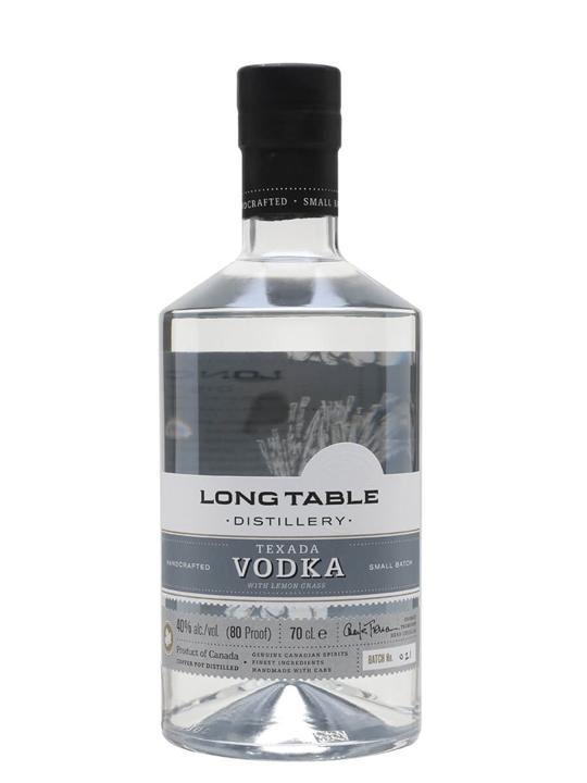 Long Table Distillery Texada Vodka