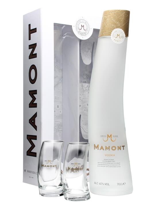 Mamont Siberian Vodka Glass Pack