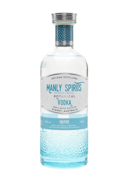 Marine Botanical Vodka Manly Spirits