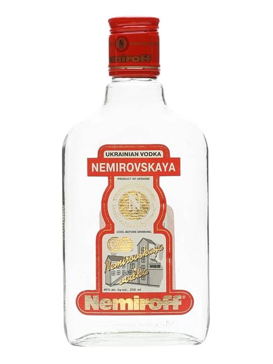 Nemirovskaya Ukrainian Vodka / Nemiroff / Small Bottle