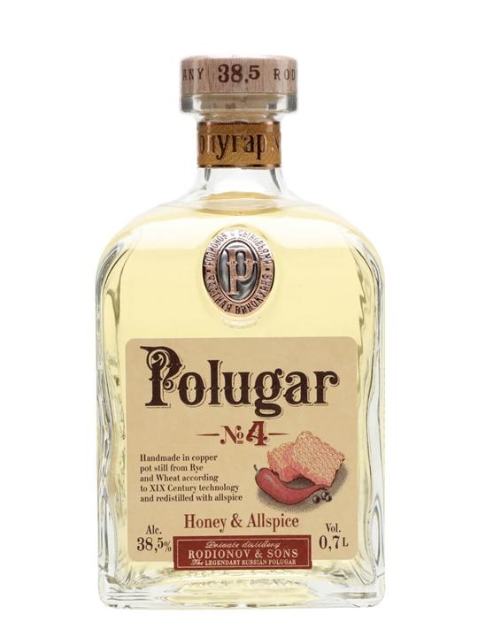 Polugar No.4 Honey & Allspice Vodka
