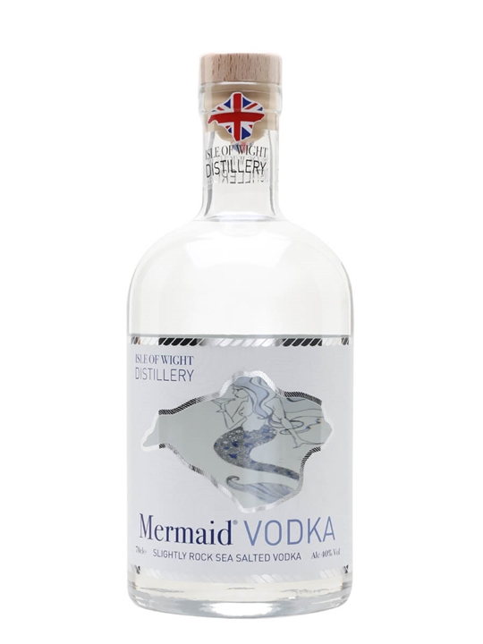 Mermaid Slightly Rock Sea Salted Vodka