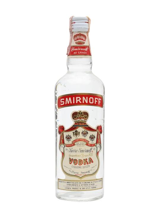 Smirnoff Vodka / Bot.1960s