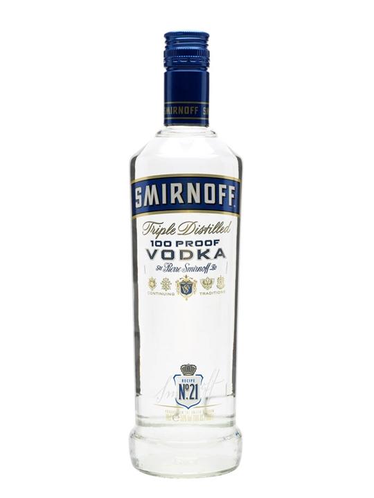 Smirnoff Blue Export Strength Vodka