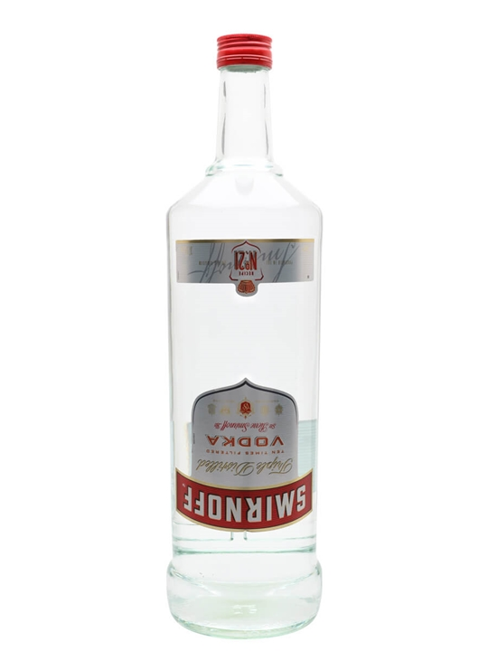 Smirnoff Red Vodka / Large Bottle