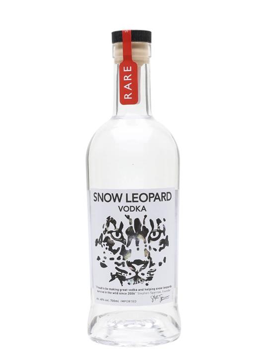 Snow Leopard Rare Vodka