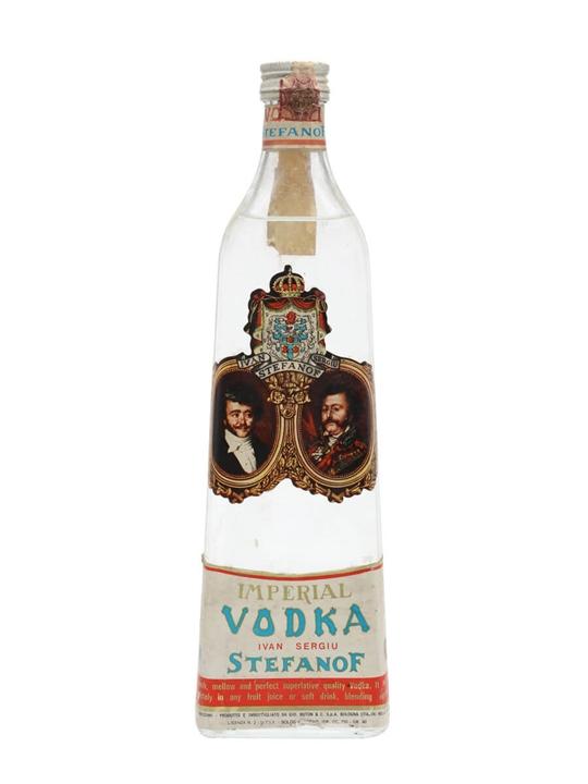 Stefanof Imperial Vodka / Bot.1960s