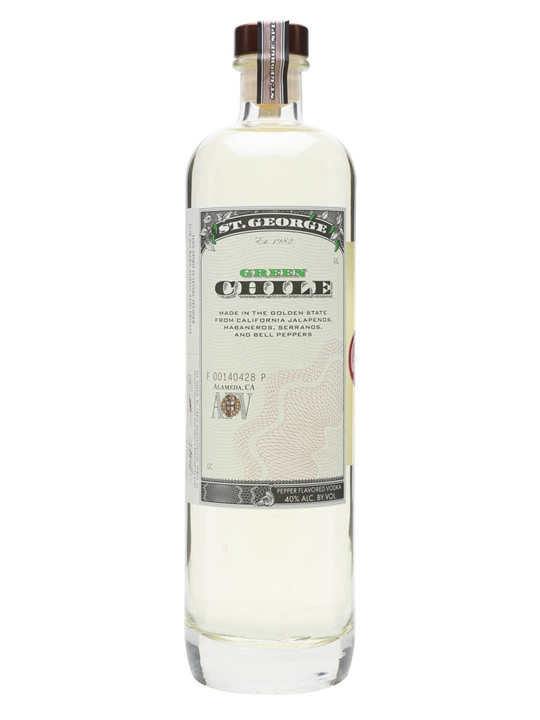 St George Distillery Green Chile Vodka