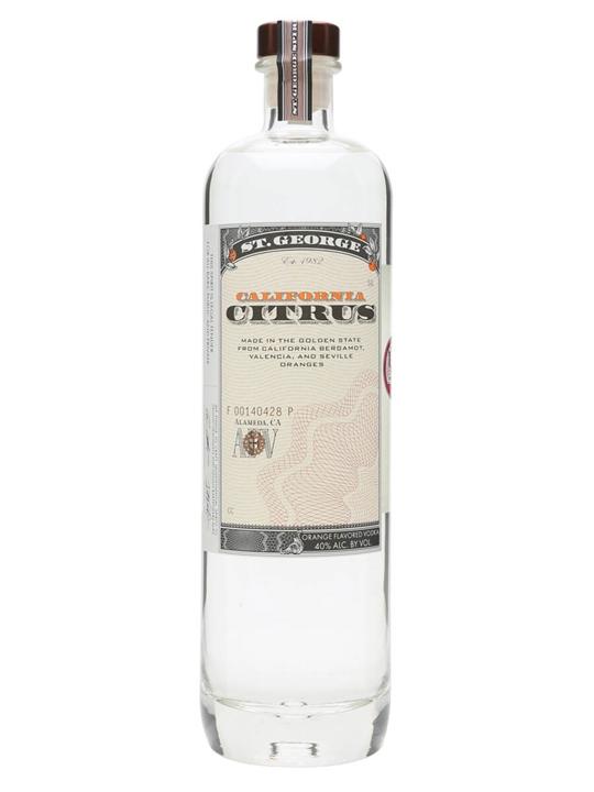 St George Distillery California Citrus Vodka