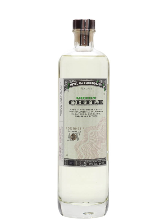 St George Distillery Green Chile Vodka