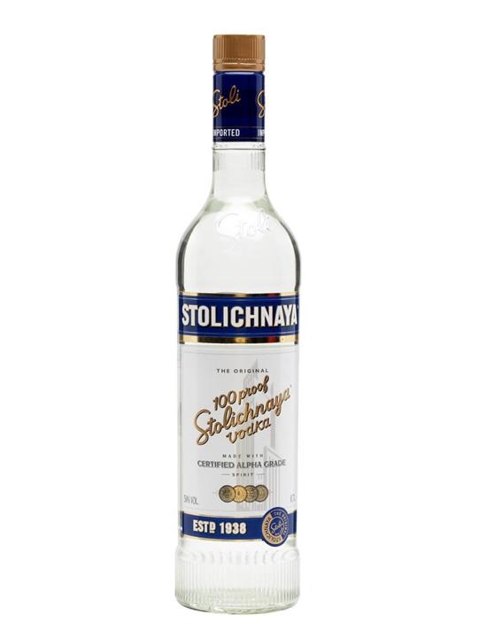 Stolichnaya Blue Vodka