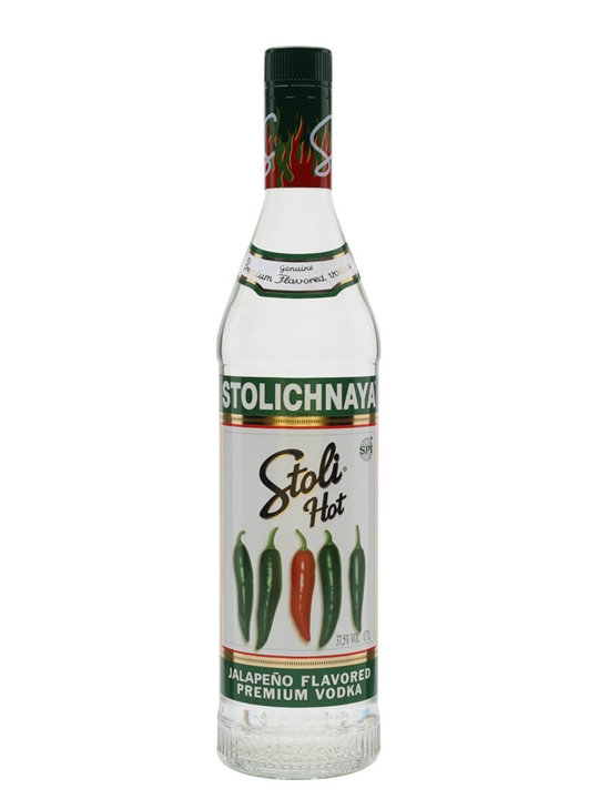 Stolichnaya Hot Vodka / Jalapeño