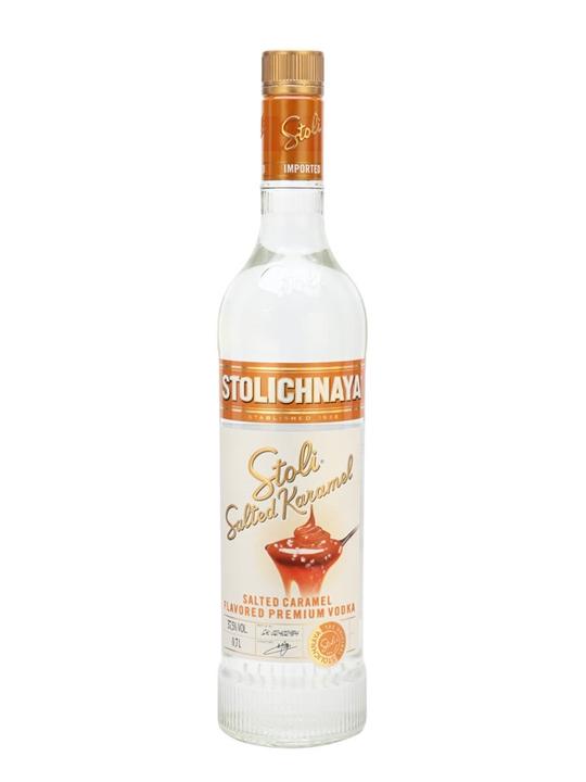 Stolichnaya Salted Caramel Vodka