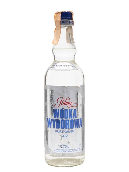 Wodka Wyborowa Polmos / Bot.1970s