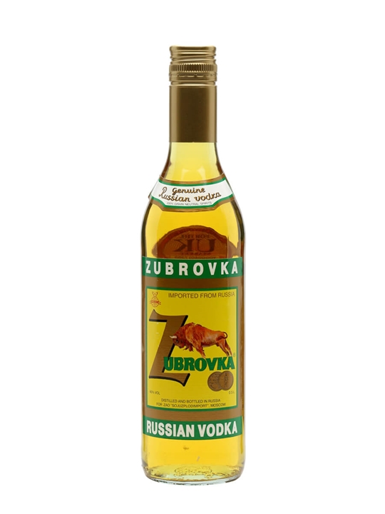 Zubrovka Russian Vodka
