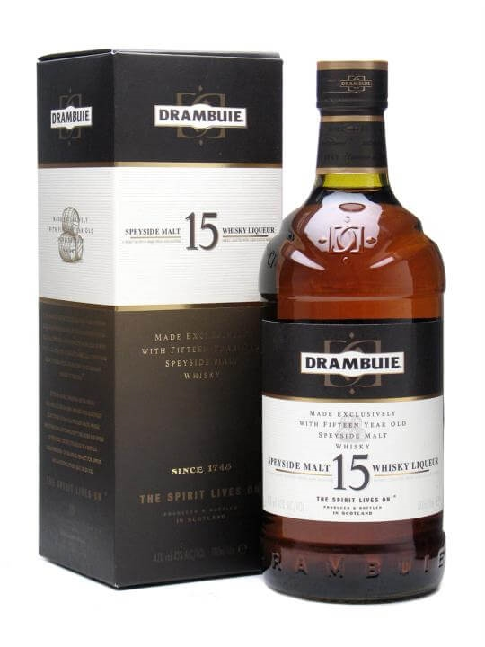 Drambuie 15 Year Old Speyside Whisky Liqueur  Litre