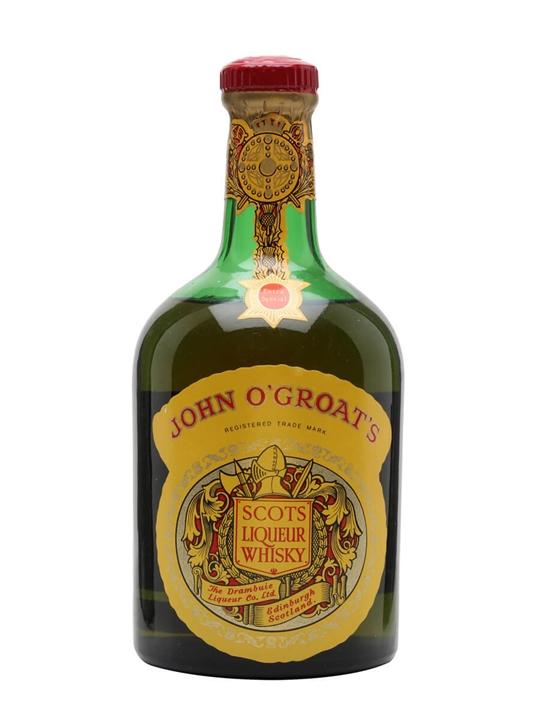 John O'Groat's Liqueur Whisky/ Bot.1950s