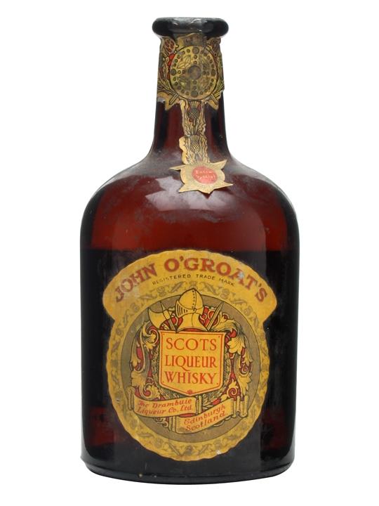 John O'Groat's Liqueur Whisky / Bot.1940s