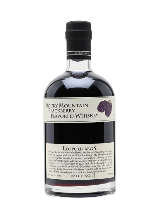 Rocky Mountain Blackberry Whisky Liqueur