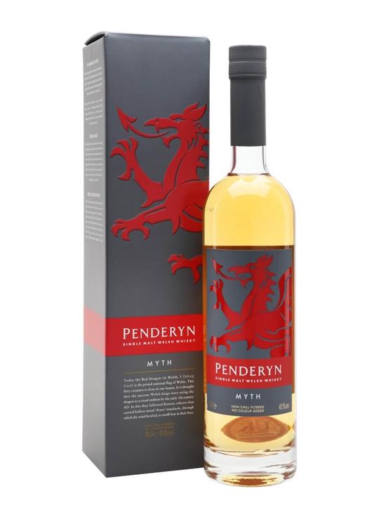 Penderyn Myth Single Malt Welsh Whisky