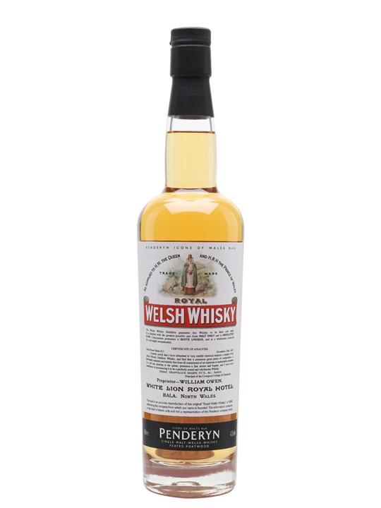 Penderyn Royal Welsh Whisky Single Malt Welsh Whisky