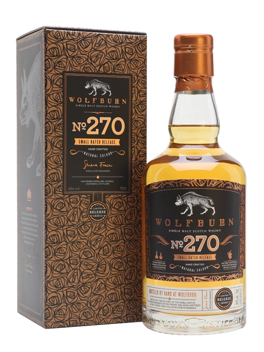 Wolfburn Batch 270 Highland Single Malt Scotch Whisky