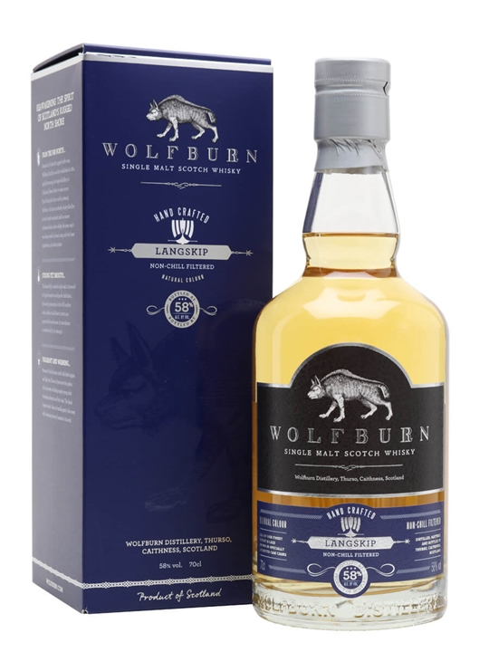 Wolfburn Langskip Highland Single Malt Scotch Whisky