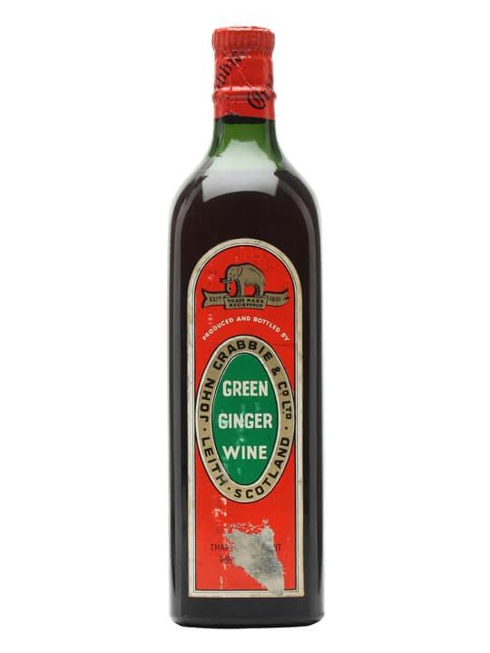 Crabbie's Green Ginger Wine / Bot.1960s