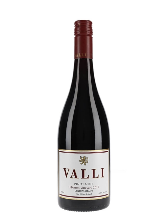 Valli Gibbston Vineyard Pinot Noir 2017